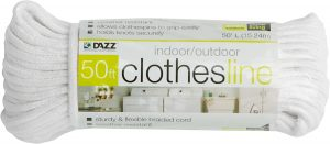 Cotton Cloth-Braided Clothesline