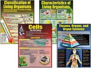 Living Organisms Teaching Poster Set