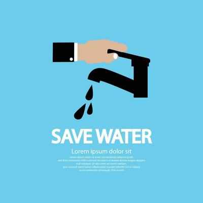 5 Ace Water Conservation M Sticker Poster
