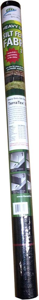 76430 Commercial Grade Sediment Runoff Silt Fence Fabric