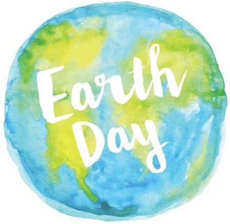 Earth Day Watercolor Go Green Conservation Environmental Laminated