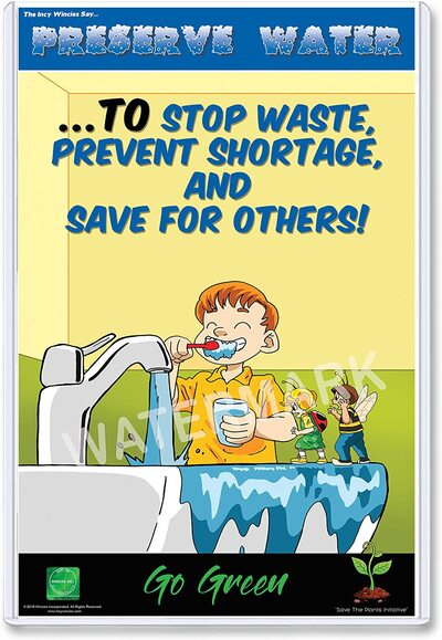 Water Preservation Posters