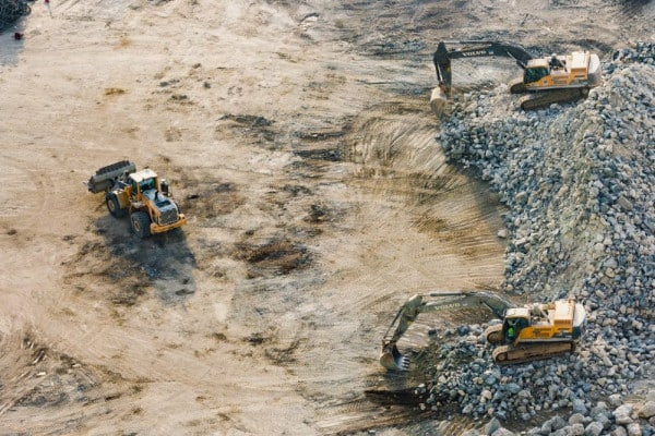types of water pollution: mining