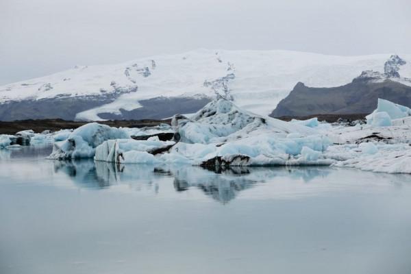 shrinking ice sheet
