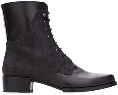 Bourgeois Boheme Women's Vegan Isobel Lace-Up Boot