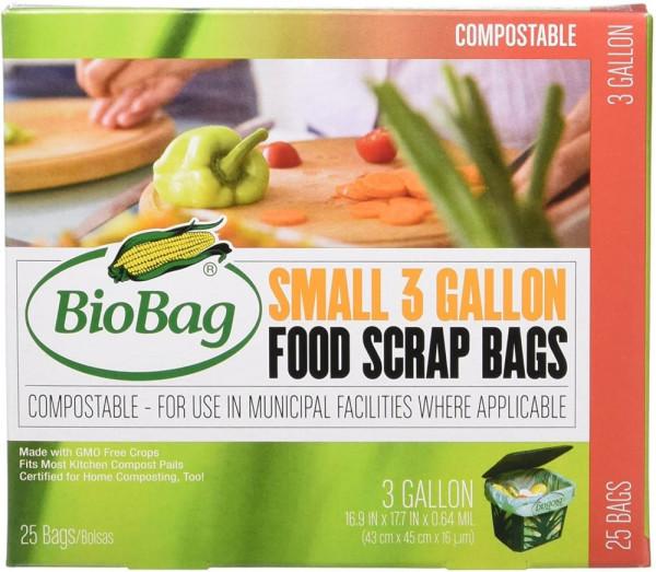 BioBag Compostable Food Scrap Bags