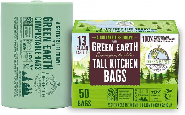 Green Earth Compostable Bags