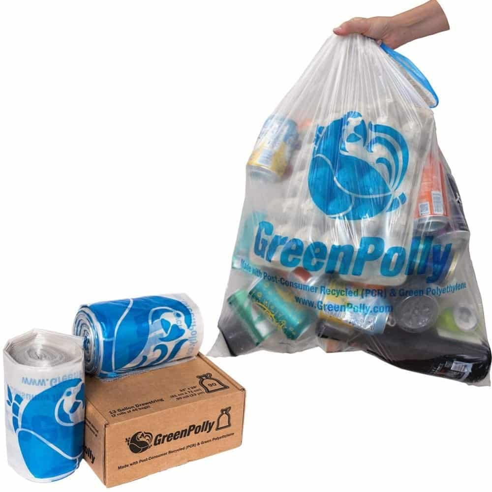 GreenPolly Clear Recycling Bags