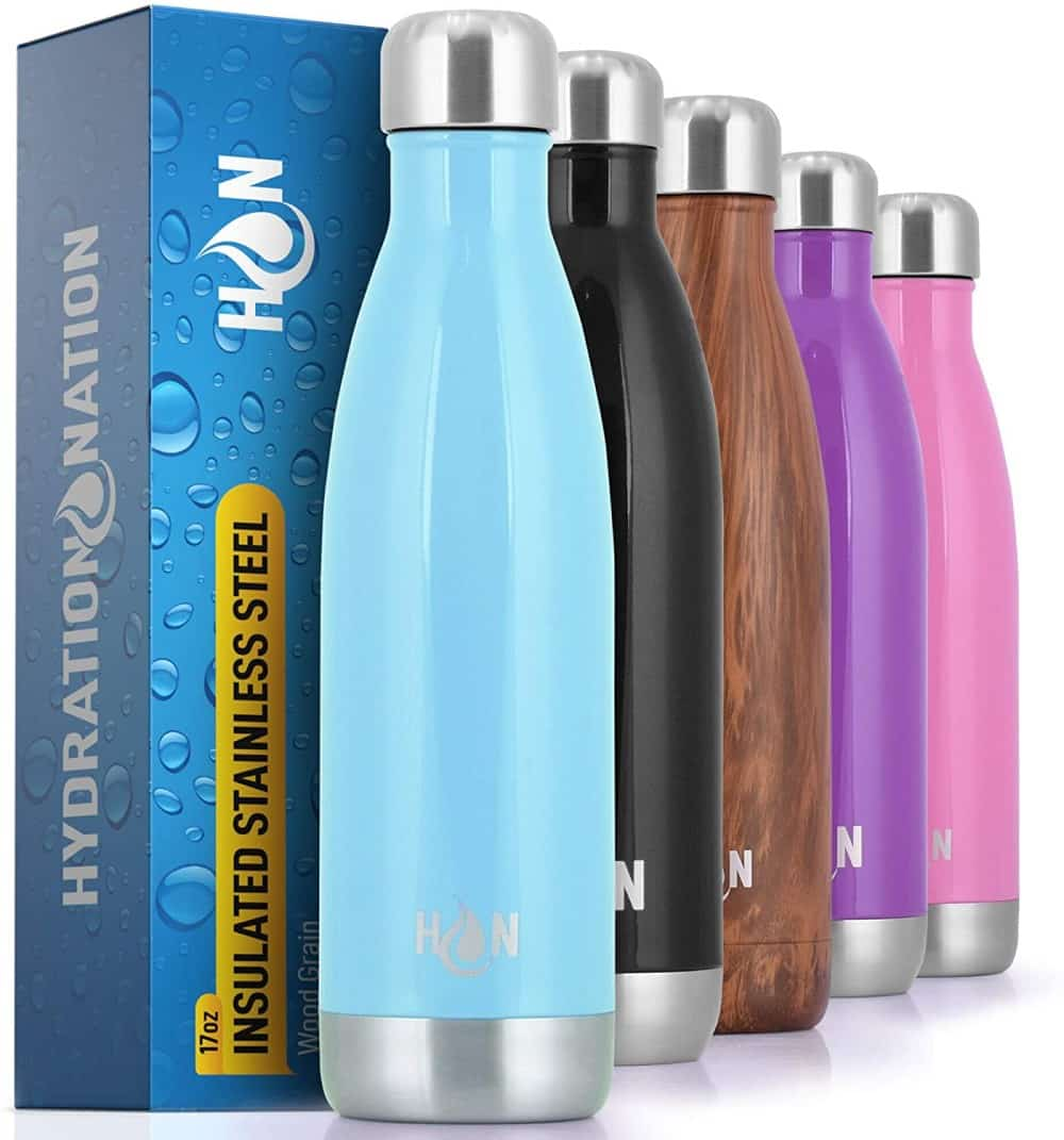 Hydration Nation eco-friendly water bottles