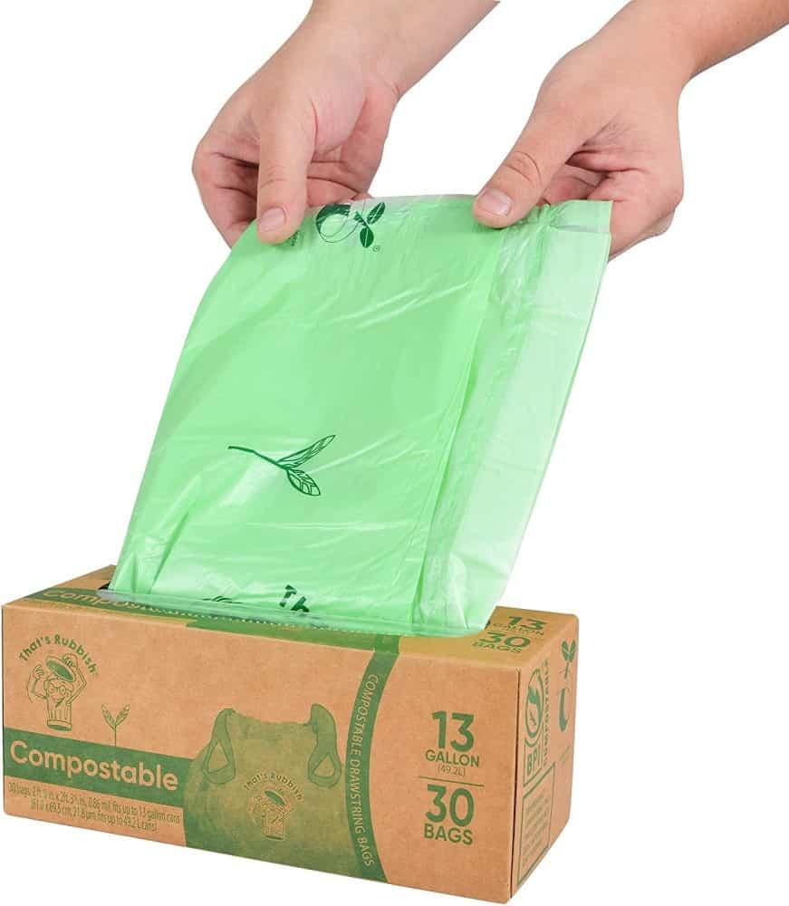 That's Rubbish Drawstring Trash Bags