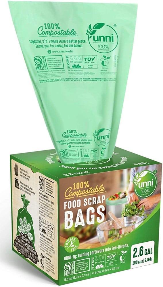 UNNI Compostable Food Scrap Bags
