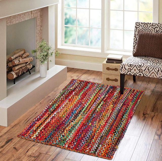 hand made eco-friendly area rugs