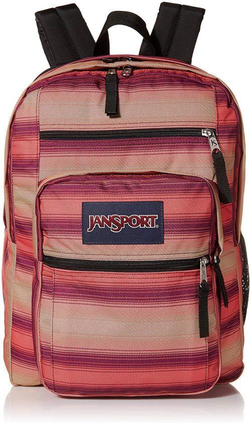 JanSport Big Student Backpack-stylish eco-friendly backpacks