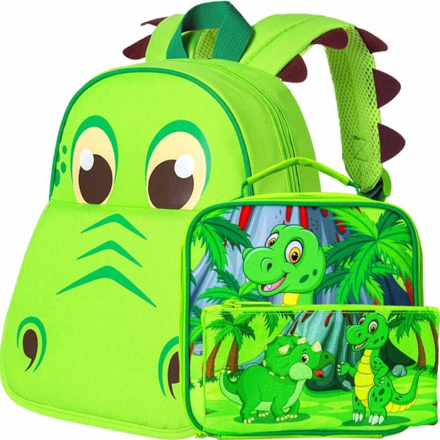 Toddler Backpack and Lunch Bag